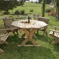 Nowy Targ Garden Table Octagonal