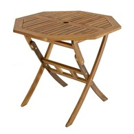 Octagonal Folding Wooden Garden Table