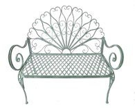 Ornate Steel Garden bench
