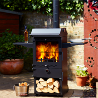 Outdoor Cooker and Heater In One!
