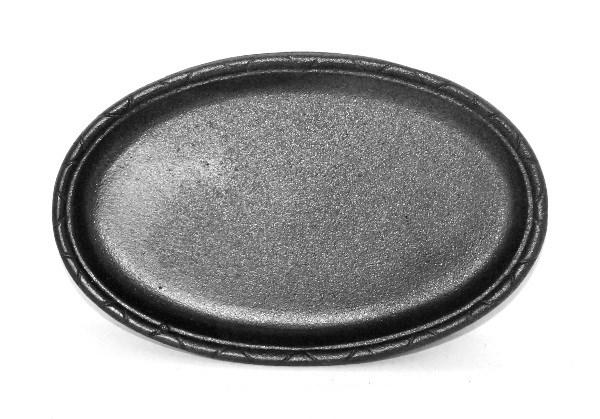 Oval Cast Iron Baking Tray Savvysurf Co Uk