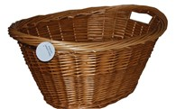 Oval Wicker Log or Laundry Basket