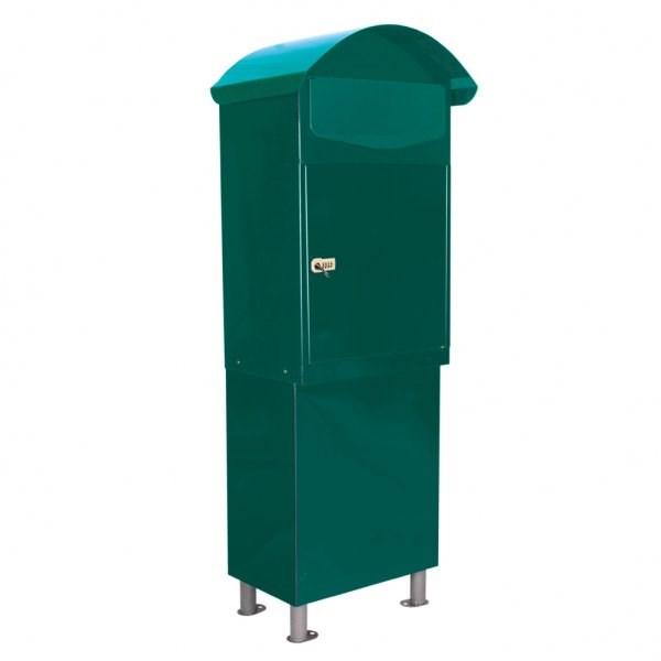 Parcel Drop Box Free Standing Letter Box Savvysurf Co Uk