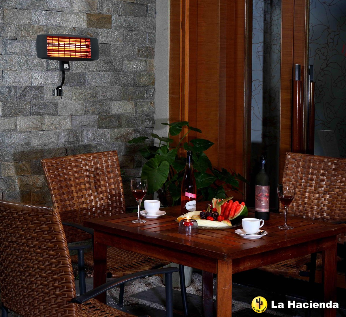 Patio Heater Wall Mount For Bars And Outdoor Events