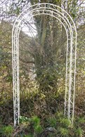 Pergolas Garden Arch In Rusty or Cream