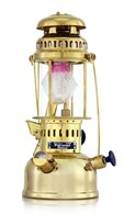 Petromax HK150 Paraffin Lamp in Brass or Chrome