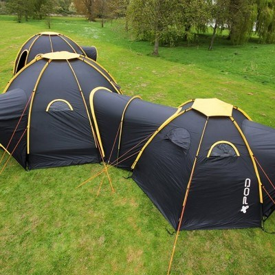 Pod Tent Maxi Social C&ing 8 Man Extra Large Family Tent & Pod Tent Maxi Social Camping 8 Man Extra Large Family Tent ...
