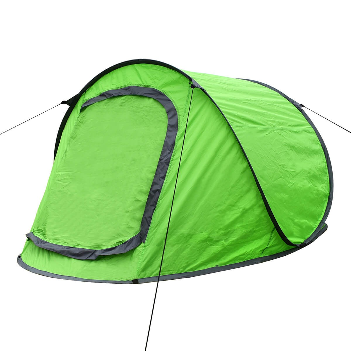 2 Man Pop Up Tent in Orange or Green Instant Tent