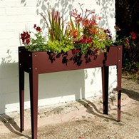 Raised Flower Bed Box Planter Various Colours