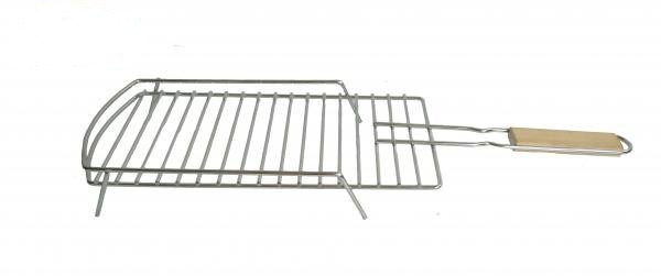 Removable BBQ Grill Chromed Steel