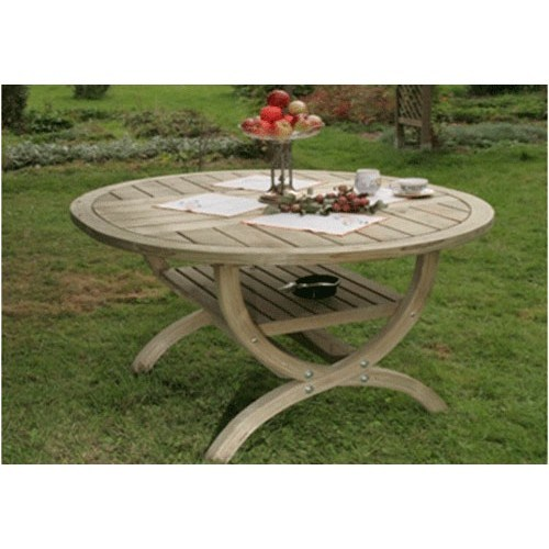 Nowy Targ Roma Spruce Wooden Garden Table