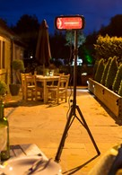Royal Electric Patio Heater Wall or Tripod Mount