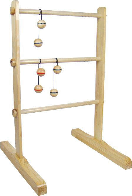 Rubber Wood Ladder Game