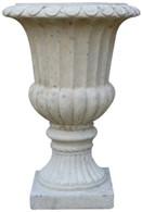 Rustic Stone Garden Urn Plant Pot