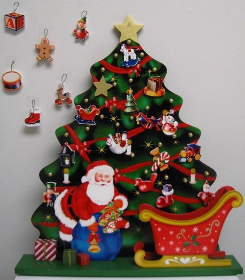 Details about Wooden Advent Calendar Traditional Christmas Calendar 24 ...