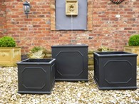 Set of 3 Classic Garden Planters Various Colours