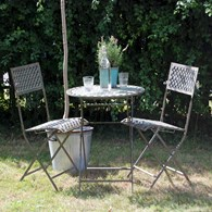 Shabby Chic Bistro Set in Two Colours
