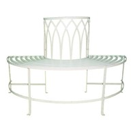 Shabby Chic Gothic Tree Seat Garden Benches