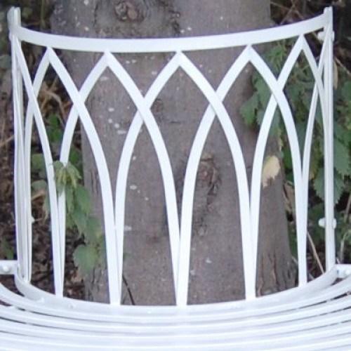 Garden Furniture Shabby Chic Metal Bench Vintage Look