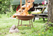 Shabby Chic Rusty Cast Iron Fire Pit