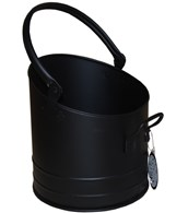 Small Black Coal Bucket