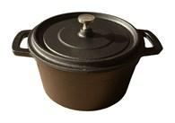 Small Cast Iron Stock Pot