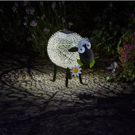 Solar Powered Sheep Garden Ornament Light