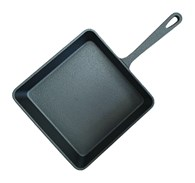 Solid Cast Iron Cooking Pan 2 Sizes