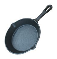 Solid Cast Iron Frying Pan Three Sizes