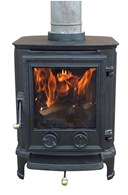 Solid Cast Iron Multi Fuel Stove 8.36KW