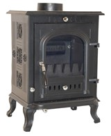 Solid Cast Iron Multi Fuel Stove EN Approved