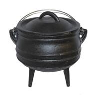 Solid Cast Iron Stock Pot Dutch Oven Various Sizes