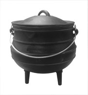 Solid Cast Iron Stock Pot Dutch Oven Various Sizes