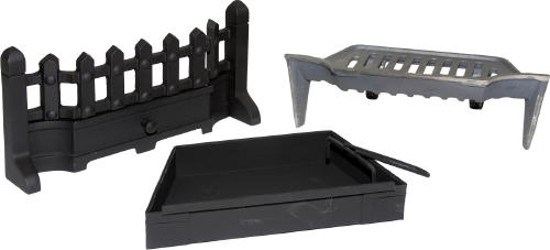 Solid Fuel Fret Set Fireplace Kit 16 or 18 Inch
