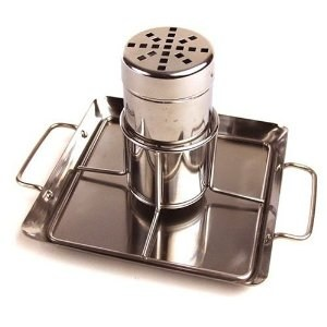 Stainless Beer Can Chicken Roaster With Drip Pan