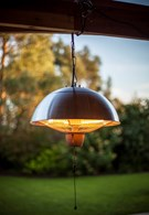 Stainless Steel Patio Heater Hanging Lamp