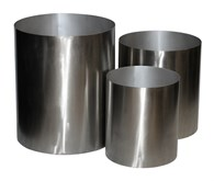 Stainless Steel Storage Box Round Various Sizes