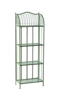 Steel Bakers Rack Shelving in Green