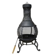 Cast Iron Chimenea with Mesh Belly
