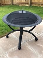 Steel Fire Pit Fire Basket