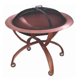 Steel Fire Pit Barbeque Fire Basket
