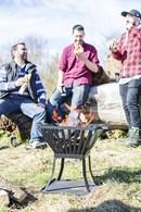 Steel Fire Pit Garden Brazier
