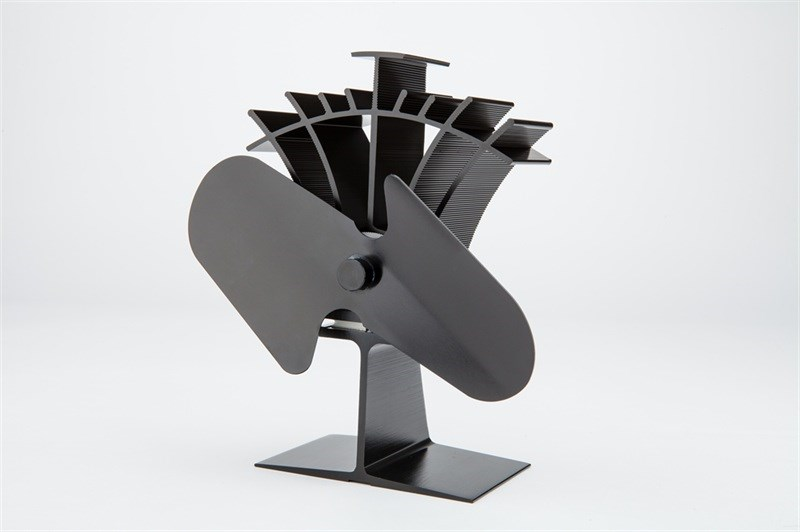 Stove Fan Two Blades Compact Various Colours