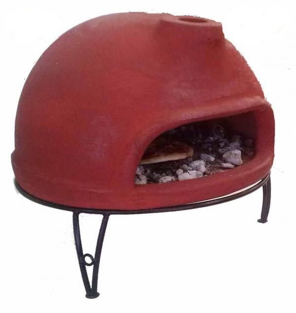 Table Top Clay Pizza Oven With Stand Savvysurf Co Uk
