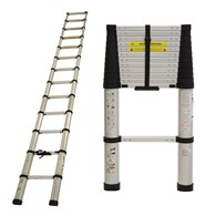 Telescopic Extension Ladder Soft Close 3 Lengths