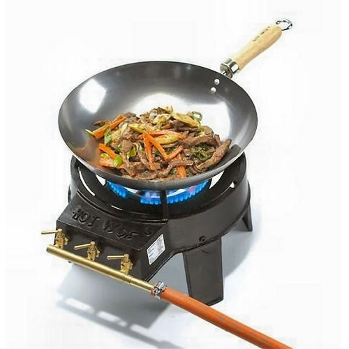 The Original Wok Set Gas Barbeque Hot Wok