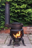 Tia Chimenea Stove Attachment Set