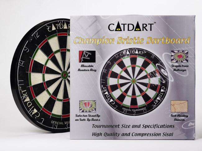 Tournament Size Bristle Sisal Dart Board Savvysurf Co Uk