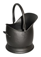 Traditional Coal Bucket Black Three Sizes