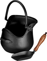 Traditional Style Coal Bucket with Shovel 3 Colours